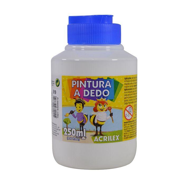 Dactilopintura-ACRILEX-pote-250ml-blanco