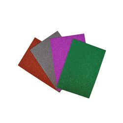 Goma-eva-brillantina-A4-30X20CM-X4-colores-surtidos
