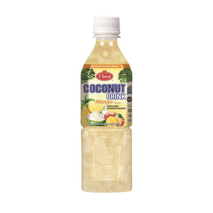 Agua-de-Coco-Mango-Coconut-T-BEST-500-ml