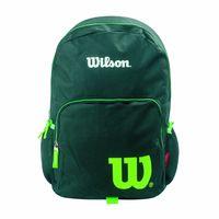 Mochila-WILSON-negra-con-detalle-verde
