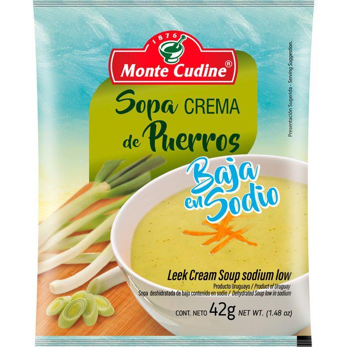 Sopa-crema-de-puerros-baja-en-sodio-MONTE-CUDINE