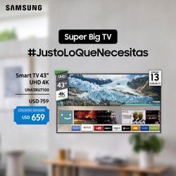 Smart-TV-SAMSUNG-43--4k-Mod.-UN43RU7100