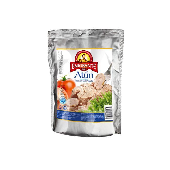 Atun-Trocitos-en-Aceite-EL-EMIGRANTE-Pouch-500-g