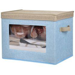 Caja-de-organizacion-con-visor-40x28x30cm-azul-beige