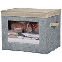 Caja-de-organizacion-con-visor-40x28x30cm-gris-beige