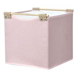 Caja-organizadora-con-asas-de-madera28x28x28-cm-rosa-beige