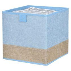 Caja-organizadora-25x25x25-cm-azul-beige