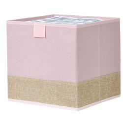 Caja-organizadora-25x25x25-cm-rosa-beige