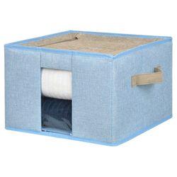Caja-organizadora-con-estructura-metalica-30x30x20-cm-azul-beige