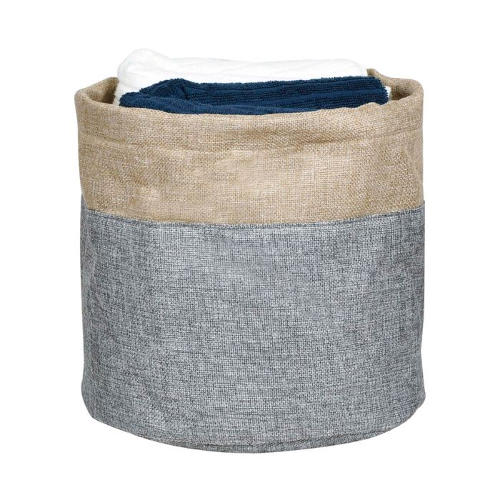 Cesto-organizador-28x26cm-gris-beige