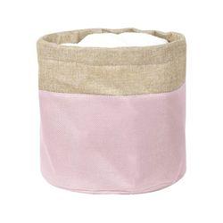 Cesto-organizador-24x23cm-rosa-beige