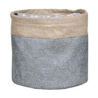 Cesto-organizador-20x20cm-gris-beige