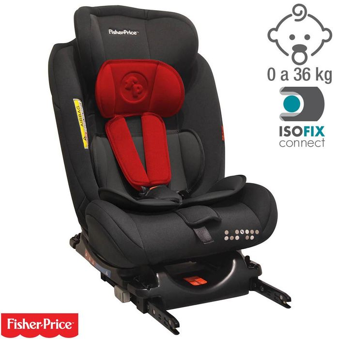 Butaca-FISHER-PRICE-con-isofix-airy-0-a-36-kg-rojo