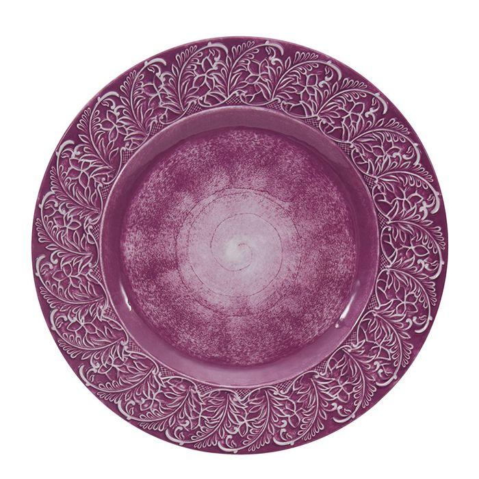 Plato-llano-en-melamina-purpura