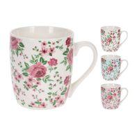 Jarro-220ml-ceramica-decorado-flores-varios-diseños
