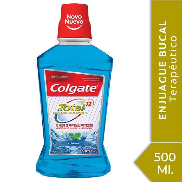 Enjuague-bucal-Colgate-total-12-clean-mint-500-ml