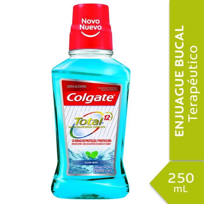 Enjuague-bucal-Colgate-total-12-clean-mint-250ml