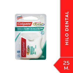 Hilo-dental-COLGATE-Total-Fluor-y-Menta-25-metros