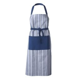 Delantal-c-peto-Country-Twill-Stripe-azul