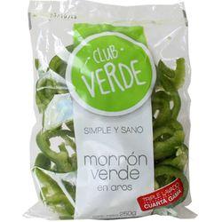 Morron-verde-en-aros-Club-Verde-250-g