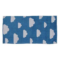 Alfombra-infantil-70x140cm-azul-diseño-nubes
