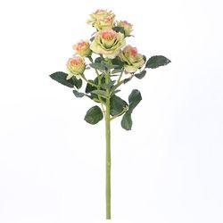 Ramo-artificial-de-mini-rosas-color-verde