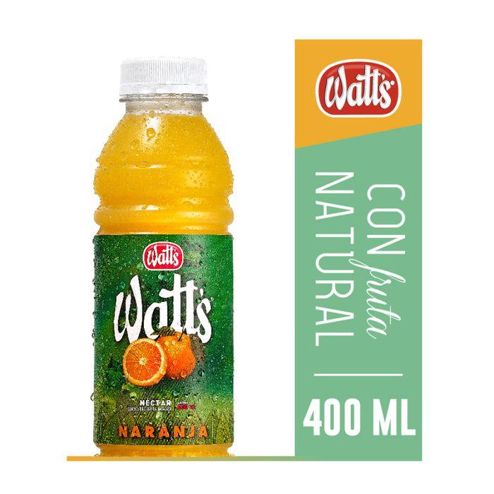 Jugo-WATTS-Naranja-bt.-400-ml