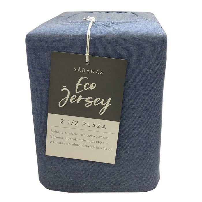 Juego-de-Sabanas-ECO-JERSEY-2-Plazas-color-Azul-M.