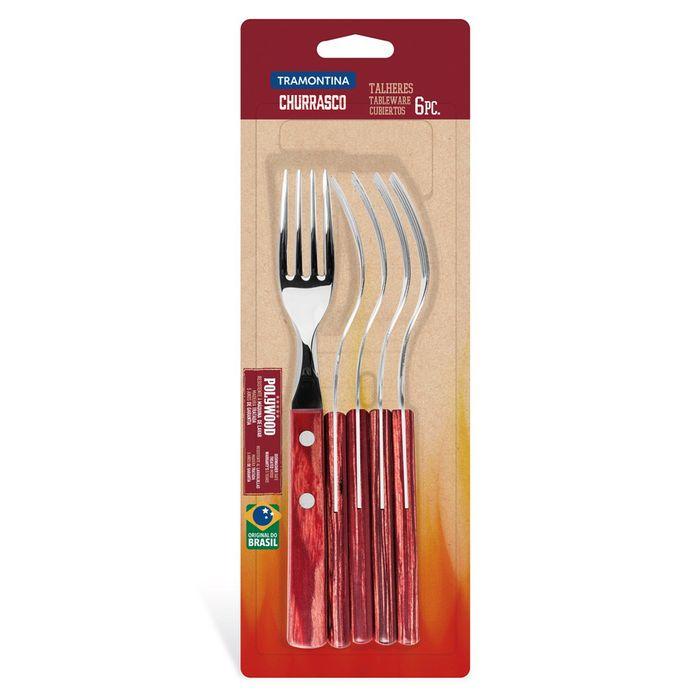 Juego-de-tenedores-para-mesa-6-piezas-POLYWOOD