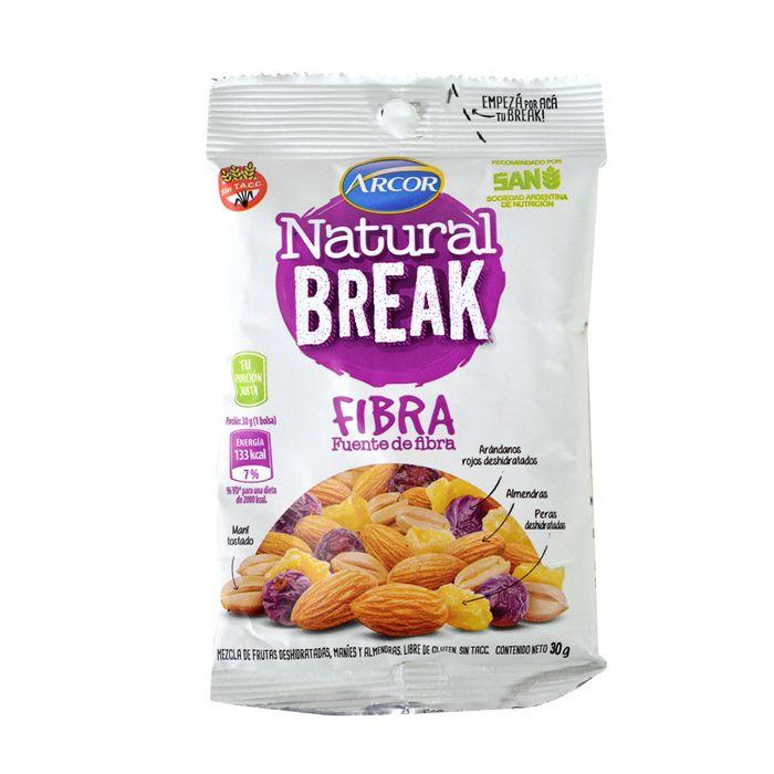 Frutos-secos-ARCOR-Natural-Break-fibra-30-g