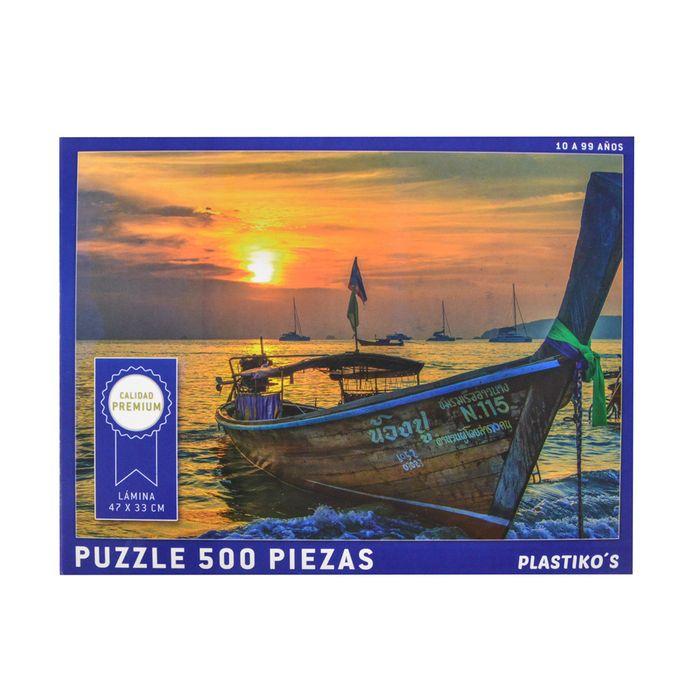 Puzzle-500pzas.-Barcaza-Tailandia