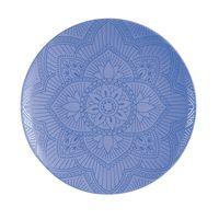 Plato-llano-color-azul-mandala-27.9-cm