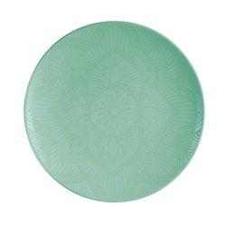 Plato-llano-color-verde-mandala-27.9-cm