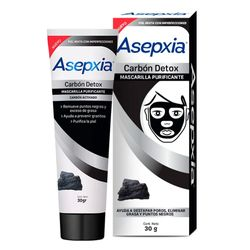 Mascarilla-ASEPXIA-peel-off-carbon-30-grs