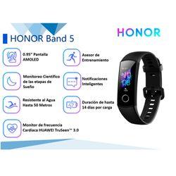 Smartband-HONOR-Band-5-negro