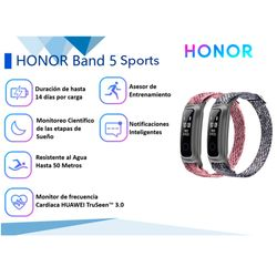 Smartband-HONOR-Band-sport-5-rosa