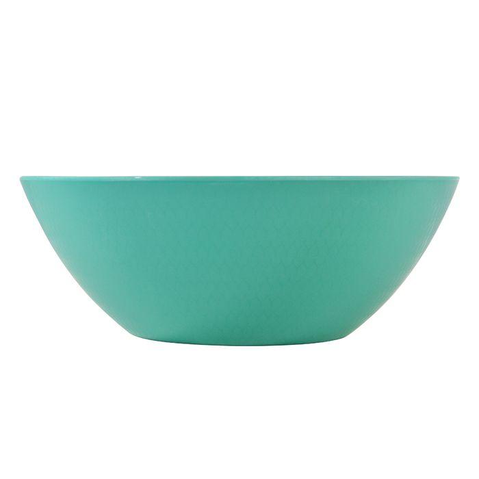 Ensaladera-de-melamina-color-verde-zig-zag-25.5-cm