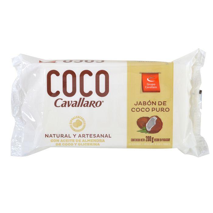 Jabon-en-barra-coco-CAVALLARO-200-g