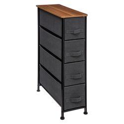 Mueble-con-4-cajones-gris-oscuro