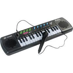 Organo-musical-con-microfono-a-pila