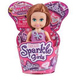 Muñeca-Sparkle-princesa-en-cupcake