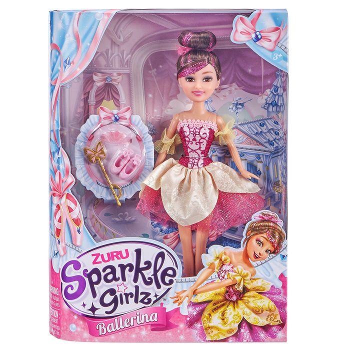 Muñeca-Sparkle-bailarina-en-caja
