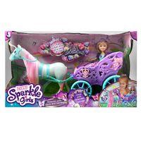 Muñeca-Sparkle-princesa-en-carruaje