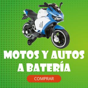 BANNER Motos y autos a batería - Coleccion 1956