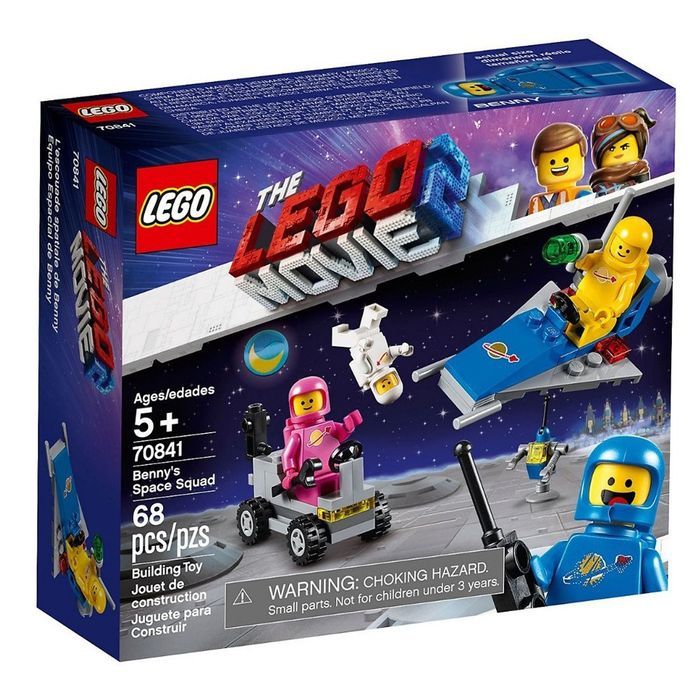 LEGO-Movie-2---Equipo-espacial-de-Benny