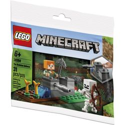 LEGO---Minecraft---The-skeleton-defensse