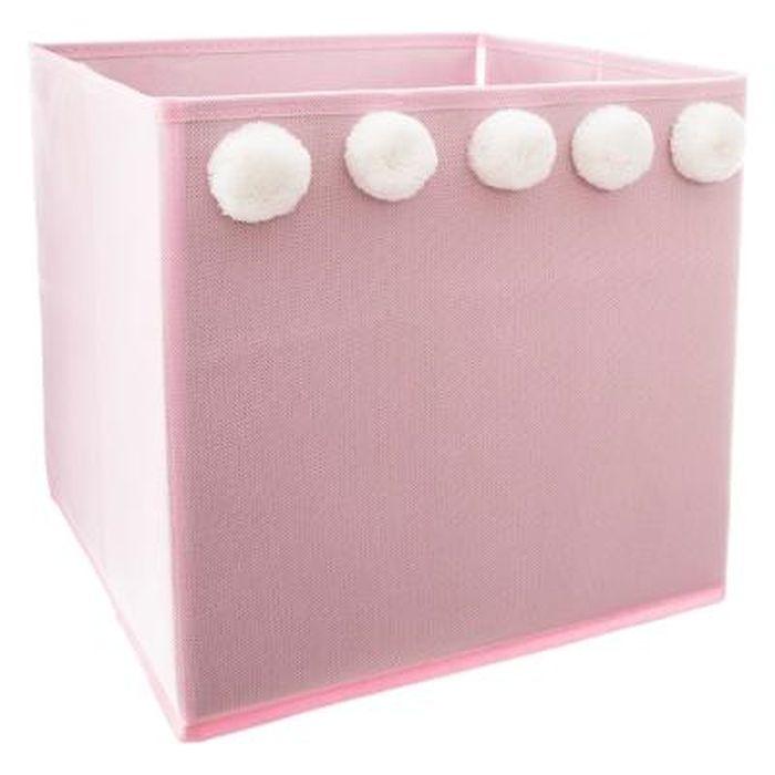 Caja-deco-infantil-29x29x29-color-rosa