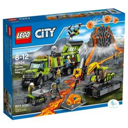 LEGO---City---Volcan-base-de-exploracion