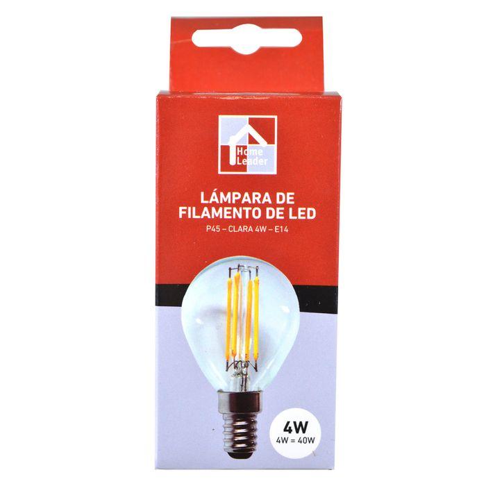 Lampara-HOME-Leader-Filamento-led-P45-claro-4W-E14