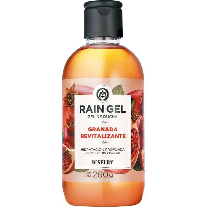 Gel-de-ducha-RAIN-GEL-granada-revitalizante-frasco-260gr